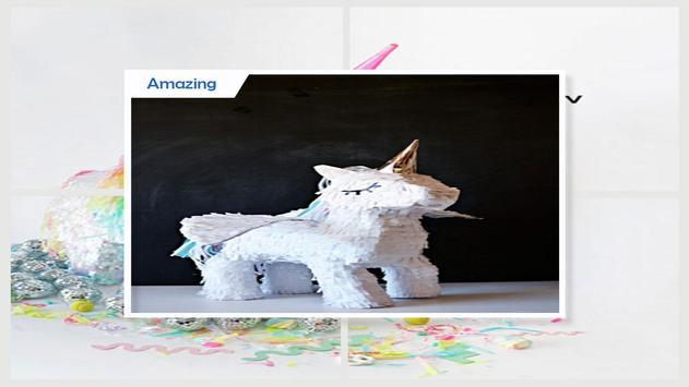 Fabulous DIY Miniature Unicorn Pinata screenshot 4
