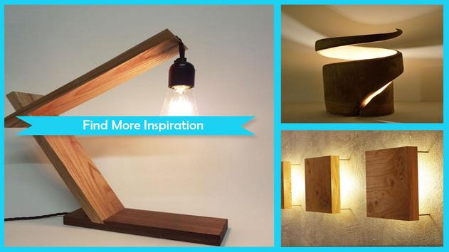 Great DIY Wooden Lamp Step By Step screenshot 1