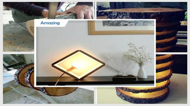 Great DIY Wooden Lamp Step By Step screenshot 3