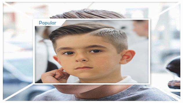 Latest Cool Boys Hairstyles screenshot 1