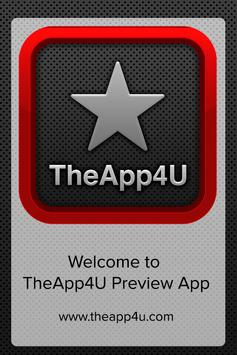 TheApp4U Preview App poster