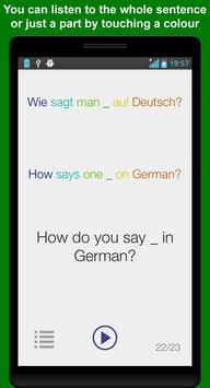 Learn German Phrases apk screenshot