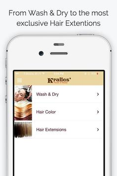 Krailes Hair apk screenshot