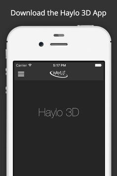 Haylo 3D poster