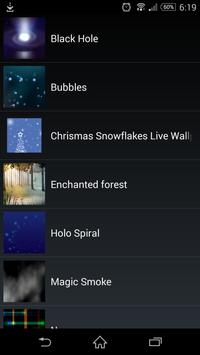 Christmas Snow LiveWallpaper screenshot 3
