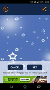 Christmas Snow LiveWallpaper screenshot 2