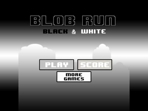 Blob Run: Black&White Edition screenshot 10