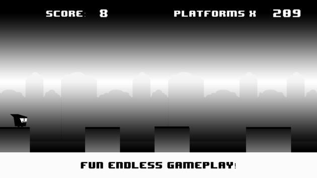 Blob Run: Black&White Edition screenshot 1