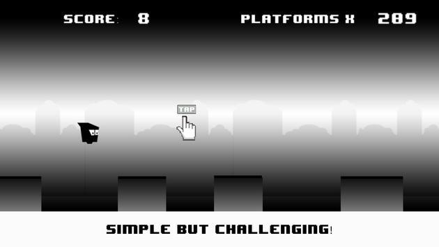 Blob Run: Black&White Edition screenshot 2