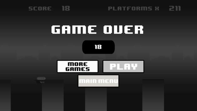 Blob Run: Black&White Edition screenshot 4
