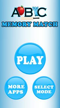 ABCMemoryMatching poster