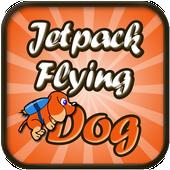 Jetpack Flying Dog icon