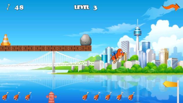 Jetpack Flying Dog apk screenshot