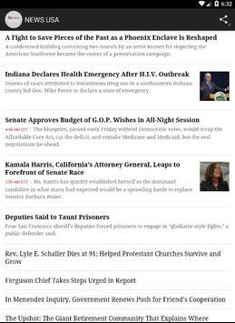 NEWS USA apk screenshot