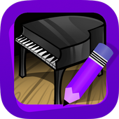 Learn How to Draw Music instruments icon