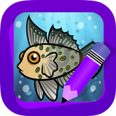 Learn How to Draw Ocean animals icon