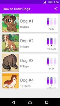 Learn How to Draw Dogs poster