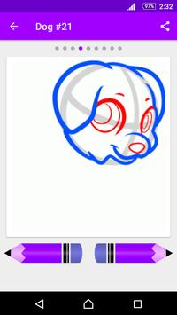 Learn How to Draw Dogs apk screenshot