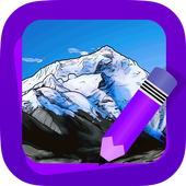Learn How to Draw Landscapes icon