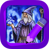 Learn How to Draw Wizards icon