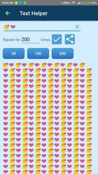 Simple Text Repeater screenshot 2