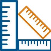 Measure ruler icon