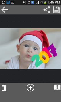 New Year 2017 Photo Stickers screenshot 5