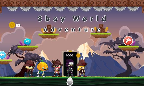 Sboy World Adventure apk screenshot