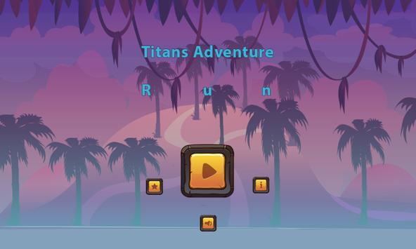 Titans Adventure Run imagem de tela 1