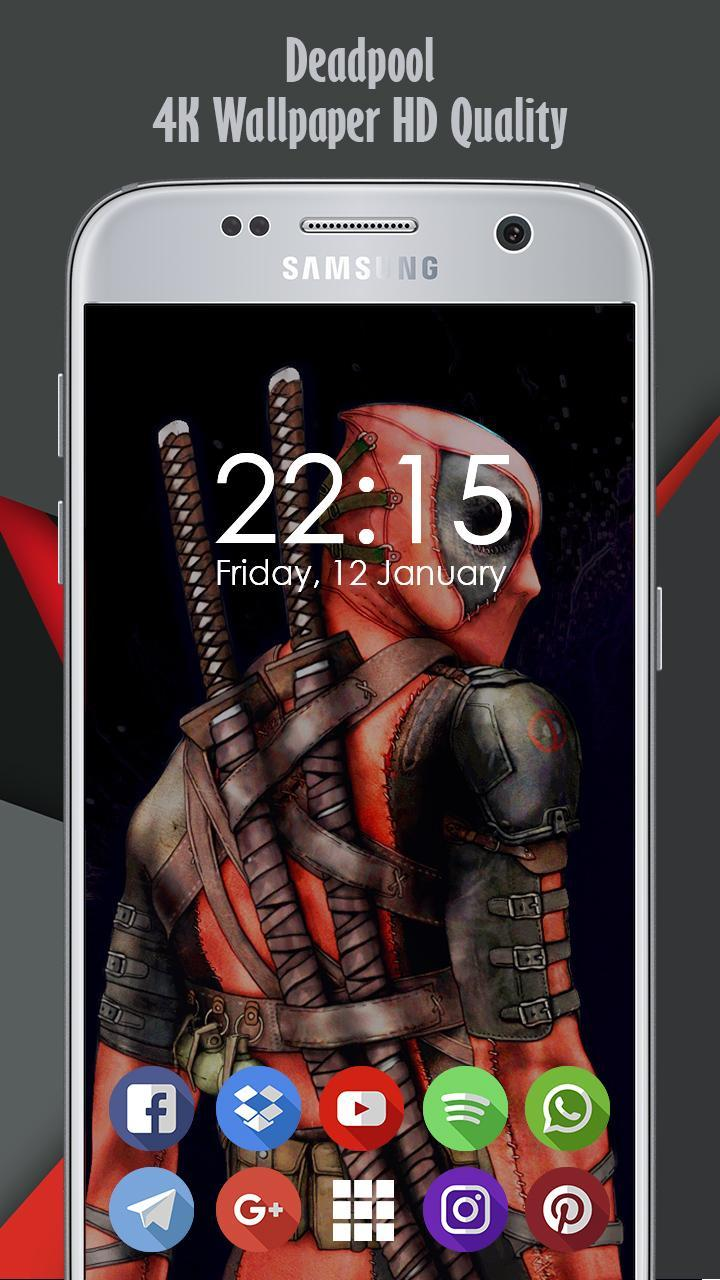 4k Deadpool Background And Wallpaper Ultra Hd For Android Apk Download