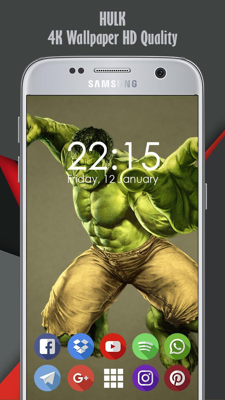 4k Hulk Background And Wallpaper Ultra Hd Fur Android Apk