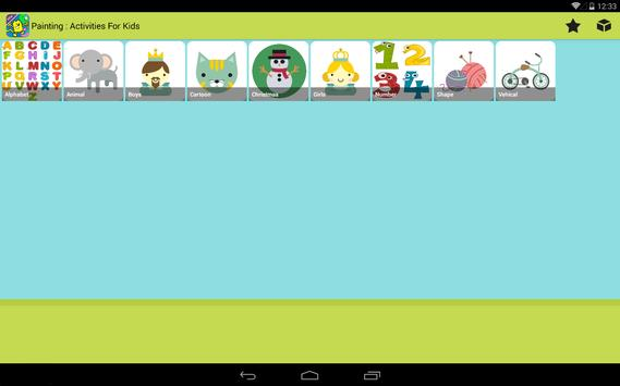 Painting : Activities for kids screenshot 8