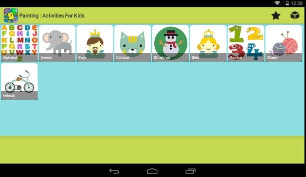 Painting : Activities for kids screenshot 12