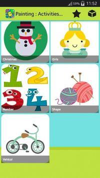 Painting : Activities for kids screenshot 2