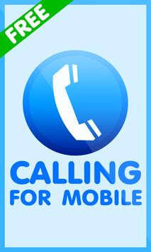 Free Calling For Mobile poster