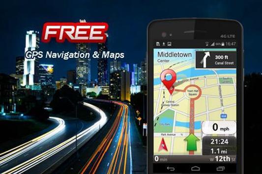 GPS Navigation & Maps Advice poster