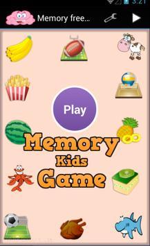 Memory match game apk screenshot