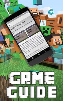 Guide For Minecraft poster