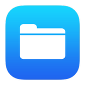 Blue File Manager icon