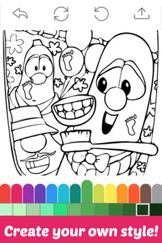The Book Coloring for Veggie by Fans poster