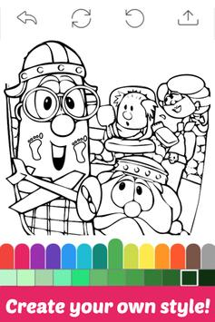 The Book Coloring for Veggie by Fans screenshot 1