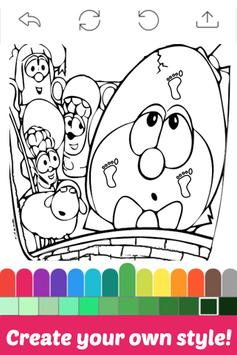 The Book Coloring for Veggie by Fans screenshot 3
