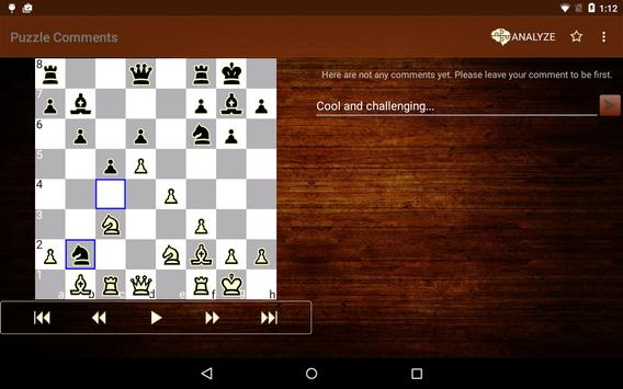 Tactic Trainer - chess puzzle screenshot 11