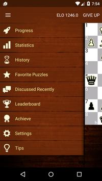 Tactic Trainer - chess puzzle screenshot 1