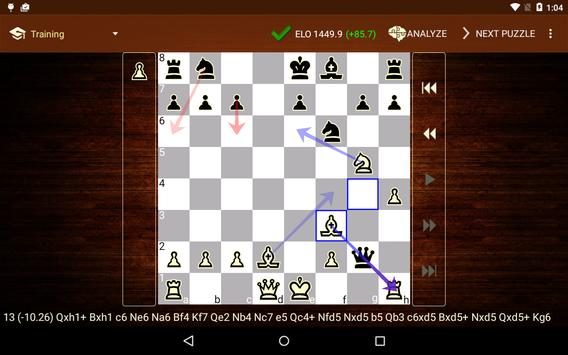 Tactic Trainer - chess puzzle screenshot 8