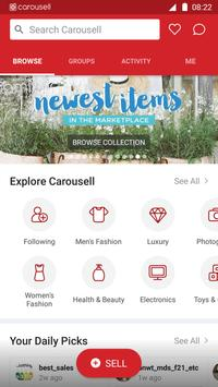 Carousell: Snap-Sell, Chat-Buy poster
