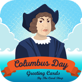 Columbus Day Greeting Cards icon