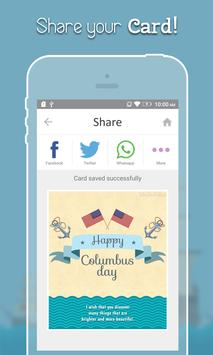Columbus Day Greeting Cards apk screenshot
