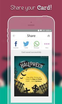 Halloween Greeting Cards apk screenshot