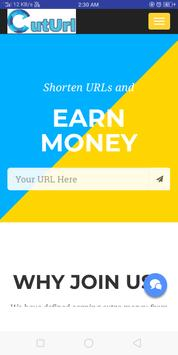 Cuturl.in-Highest Paying Url Shortener poster